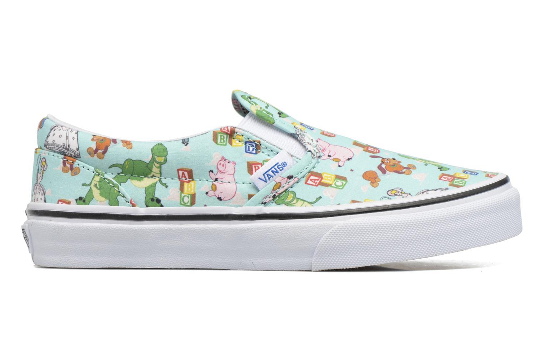 Sneaker Vans Slip-On blau ansicht von hinten