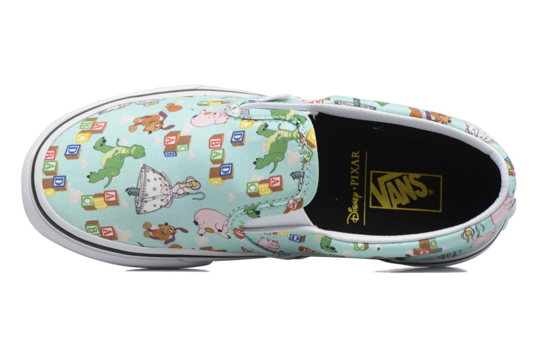 Sneakers Vans Slip-On Blauw links
