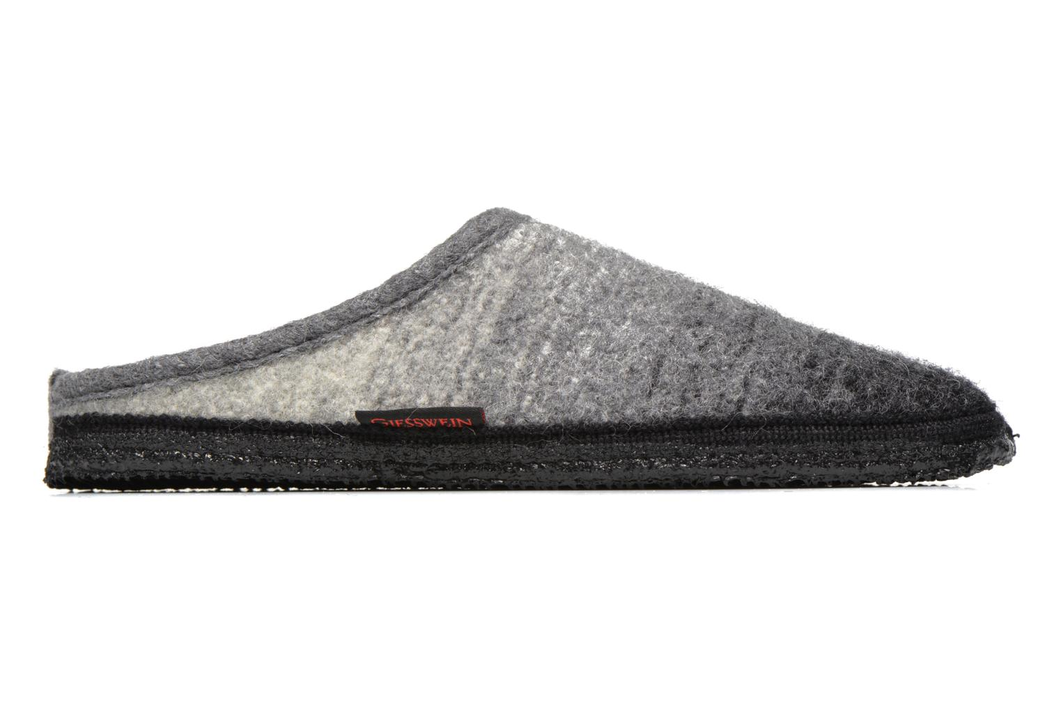 Slippers Giesswein Notzen Grey back view