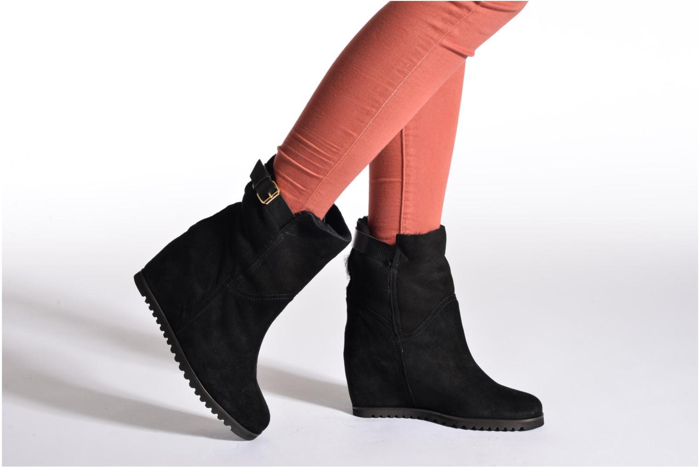 Bottines et boots Fabio Rusconi Maddie Bleu vue bas / vue portée sac