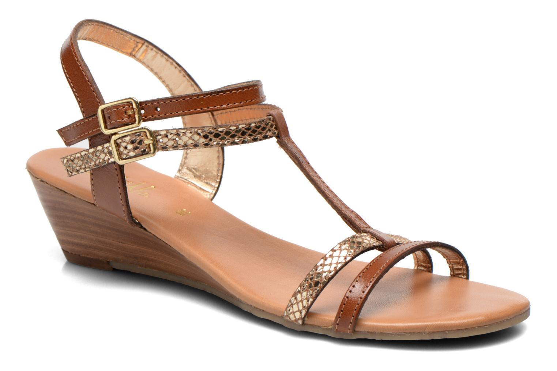 initiale paris diabolo marron sandales et nu pieds chez sarenza 234353. Black Bedroom Furniture Sets. Home Design Ideas