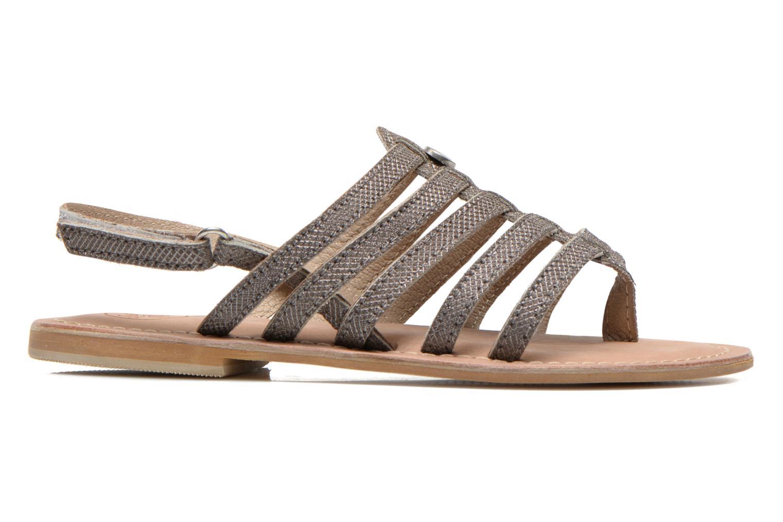 Sandales et nu-pieds Initiale Paris Menthe K Argent vue derrière