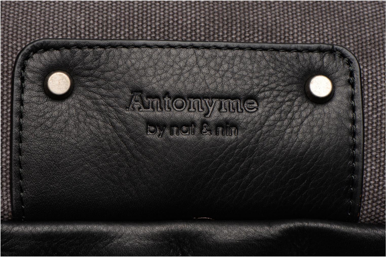 Sacs à dos Antonyme by Nat & Nin Ethan Gris vue gauche