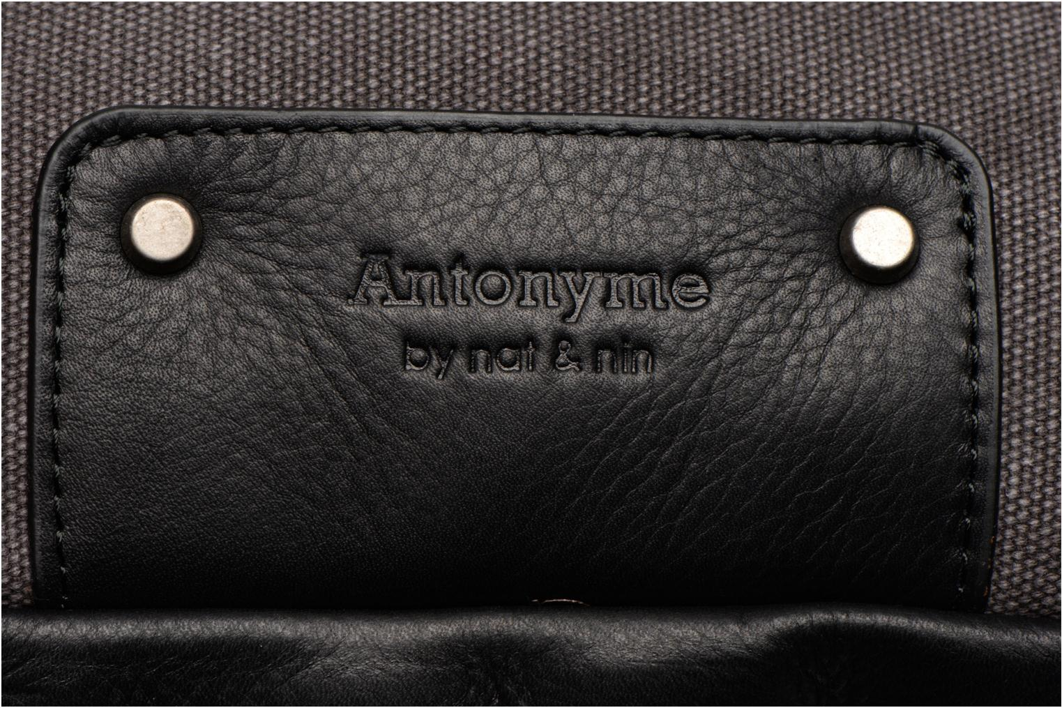 Rucksacks Antonyme by Nat & Nin Ethan Grey view from the left