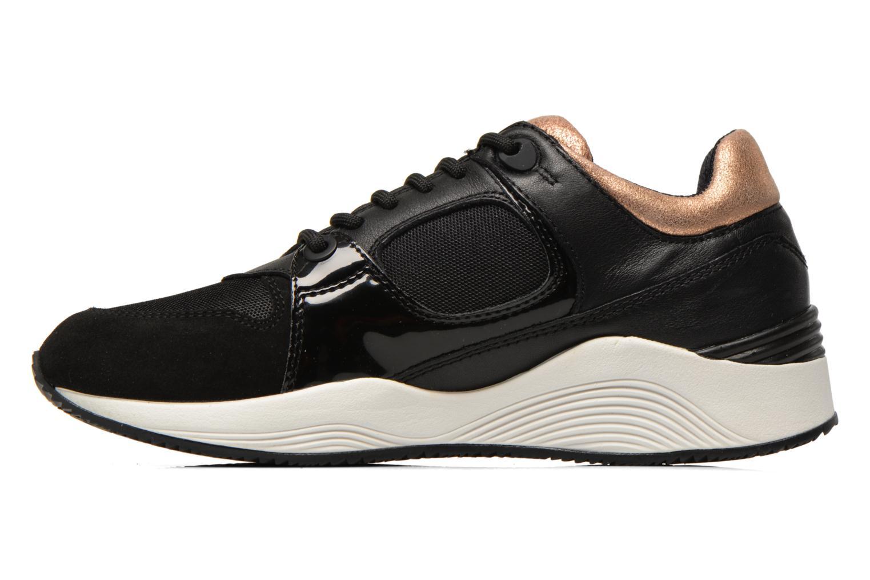 Sneakers Geox D OMAYA A D540SA Zwart voorkant