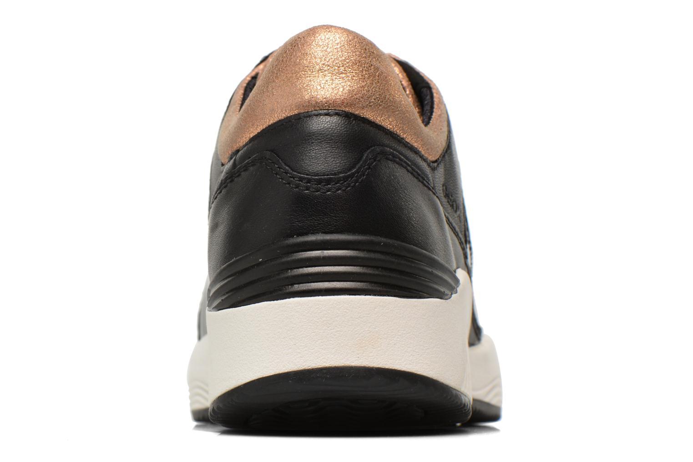 Sneakers Geox D OMAYA A D540SA Zwart rechts