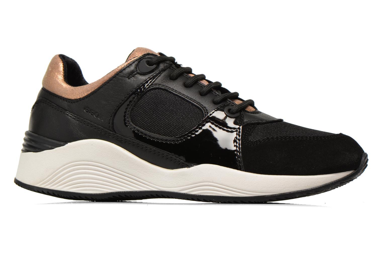 Sneakers Geox D OMAYA A D540SA Zwart achterkant