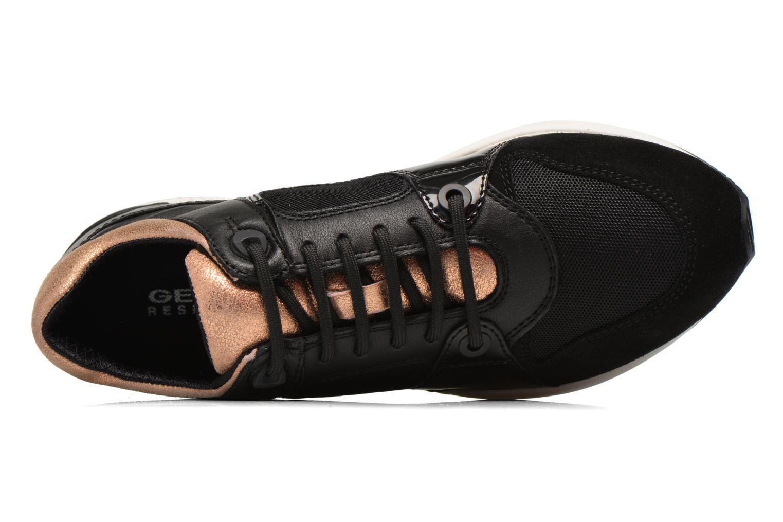Sneakers Geox D OMAYA A D540SA Zwart links
