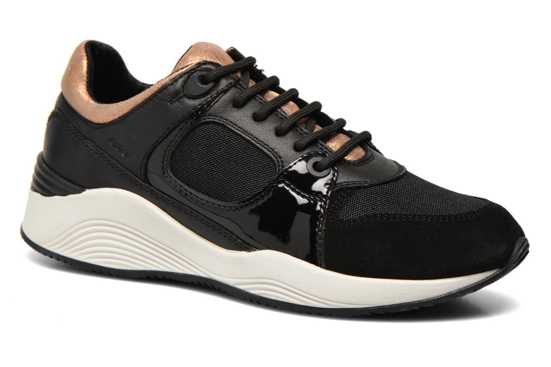 Sneakers Geox D OMAYA A D540SA Zwart detail