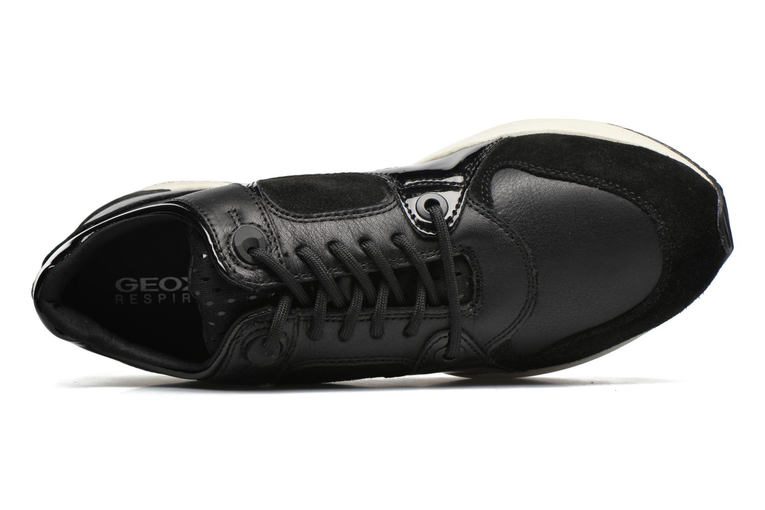 Sneakers Geox D OMAYA A D540SA Zwart links