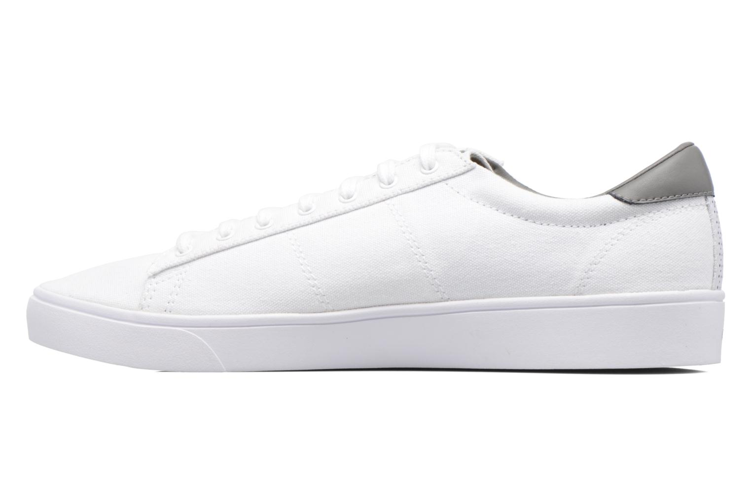 Baskets Fred Perry Spencer Canvas Blanc vue face