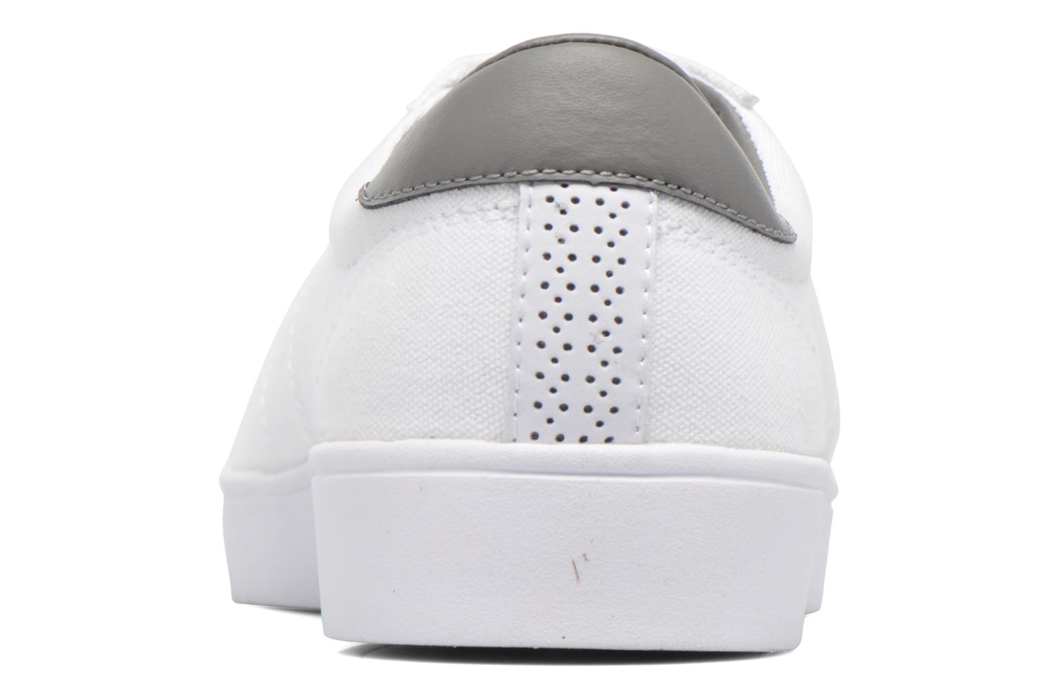 Baskets Fred Perry Spencer Canvas Blanc vue droite
