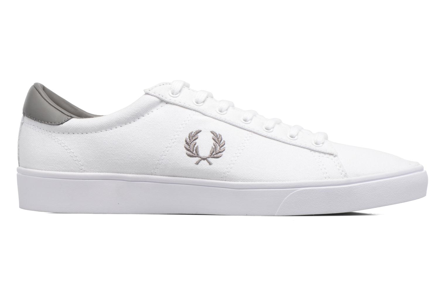 Baskets Fred Perry Spencer Canvas Blanc vue derrière