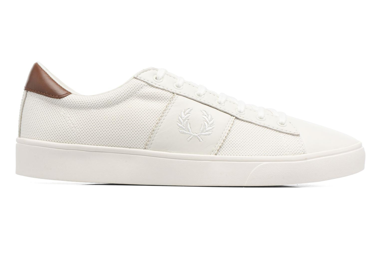 Baskets Fred Perry Spencer Mesh Leather Blanc vue derrière