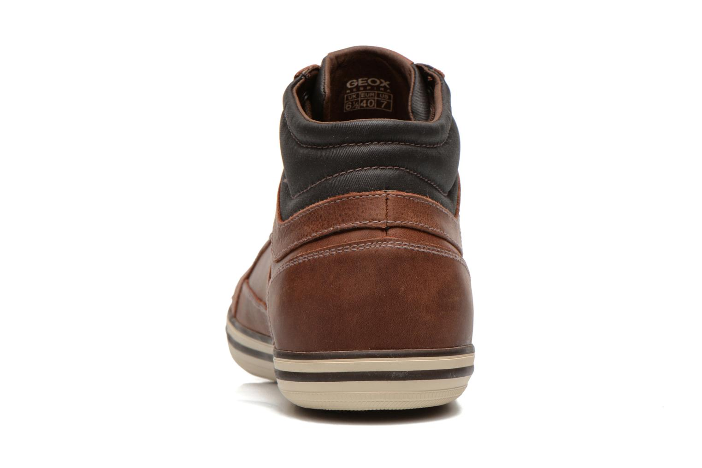 Sneaker Geox U BOX E U44R3E braun ansicht von rechts