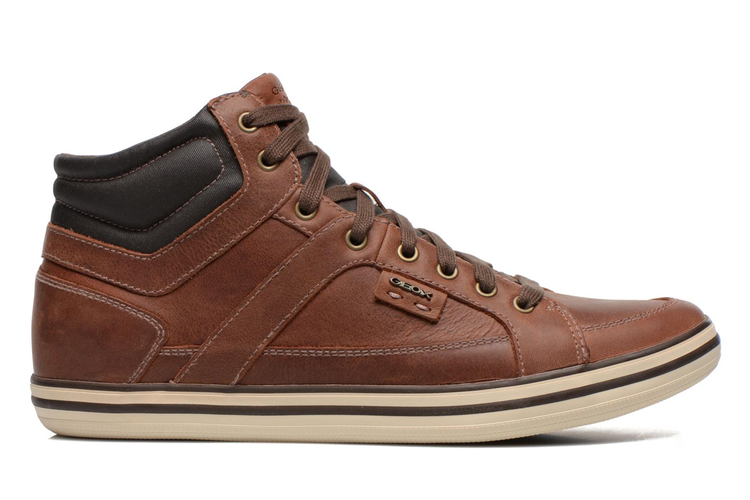 Trainers Geox U BOX E U44R3E Brown back view