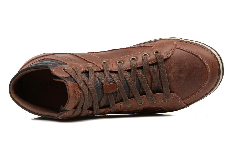 Sneaker Geox U BOX E U44R3E braun ansicht von links
