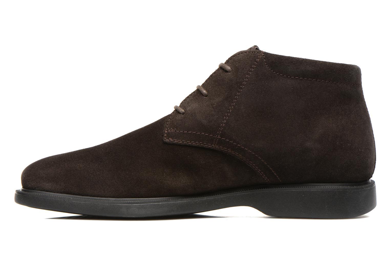 Chaussures à lacets Geox U BRAYDEN 2FIT ABX D U54N1D Marron vue face