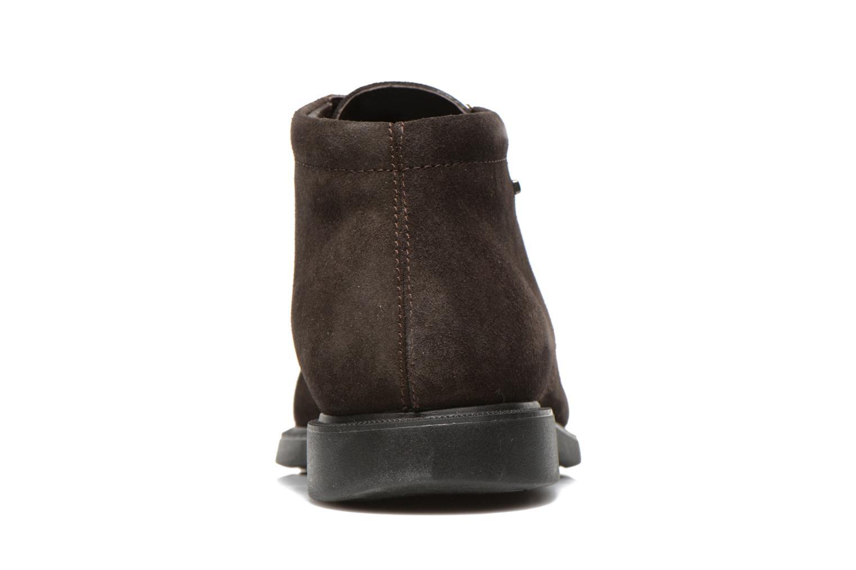 Chaussures à lacets Geox U BRAYDEN 2FIT ABX D U54N1D Marron vue droite