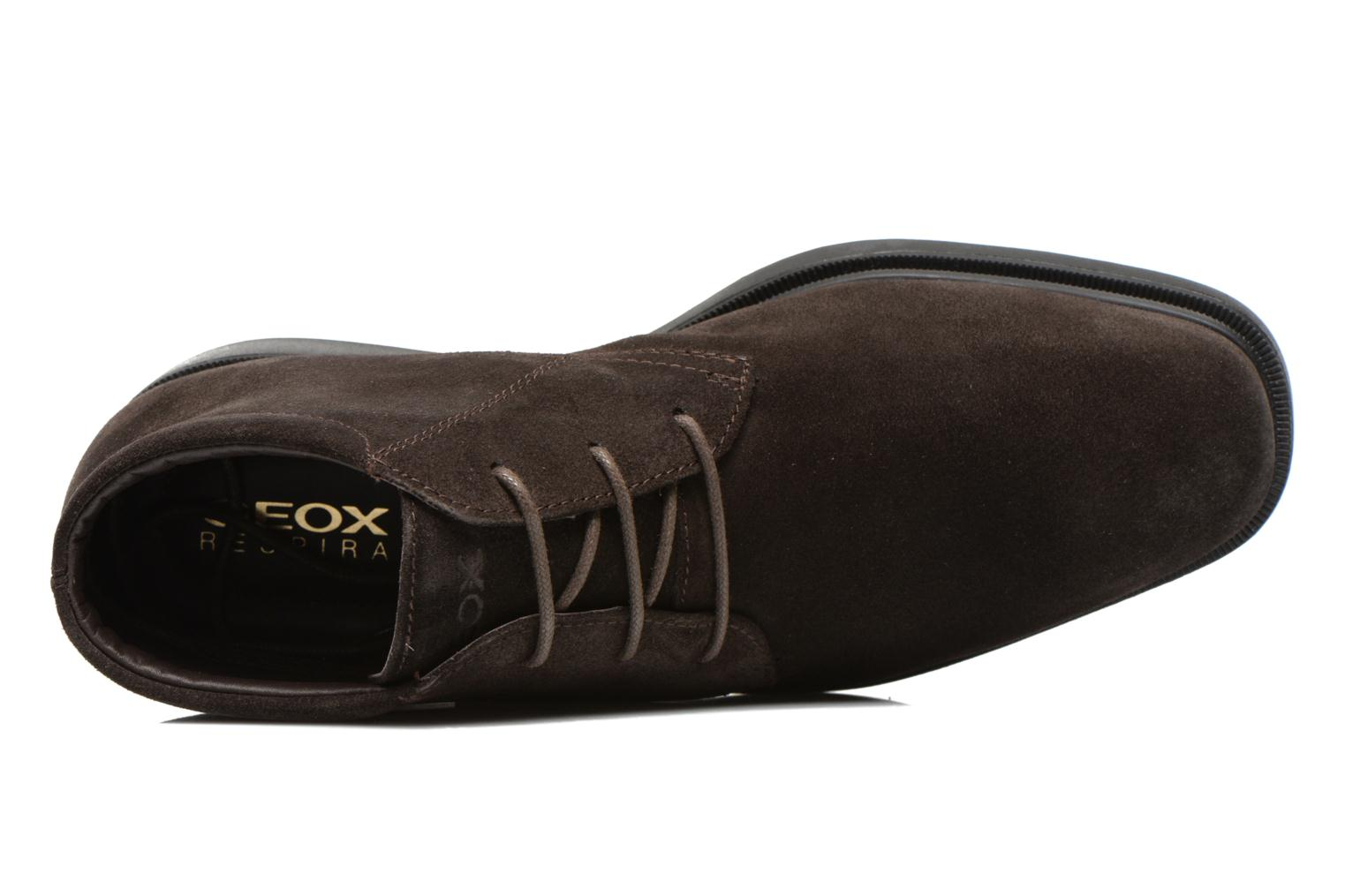 Veterschoenen Geox U BRAYDEN 2FIT ABX D U54N1D Bruin links