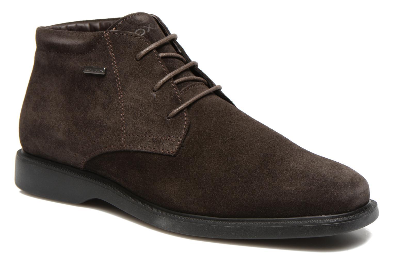 Chaussures à lacets Geox U BRAYDEN 2FIT ABX D U54N1D Marron vue détail/paire