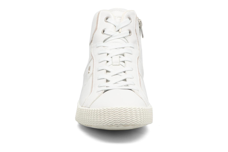 Baskets Geox U SMART K U54X2K Blanc vue portées chaussures