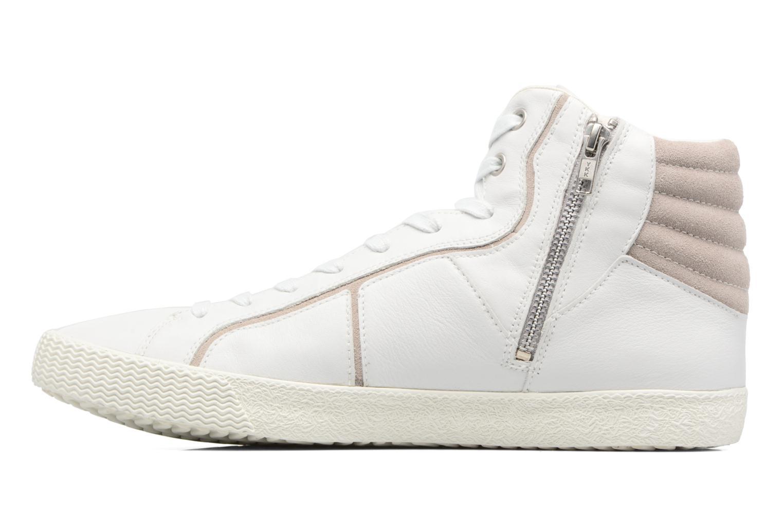 Sneakers Geox U SMART K U54X2K Wit voorkant