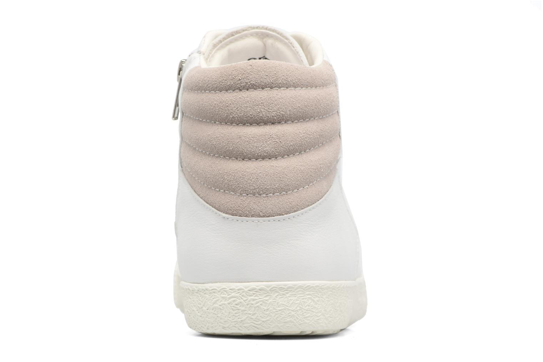 Sneakers Geox U SMART K U54X2K Wit rechts