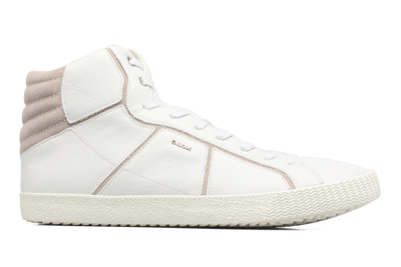 Sneakers Geox U SMART K U54X2K Wit achterkant