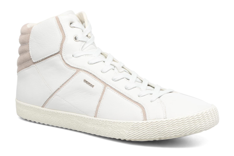 Baskets Geox U SMART K U54X2K Blanc vue détail/paire