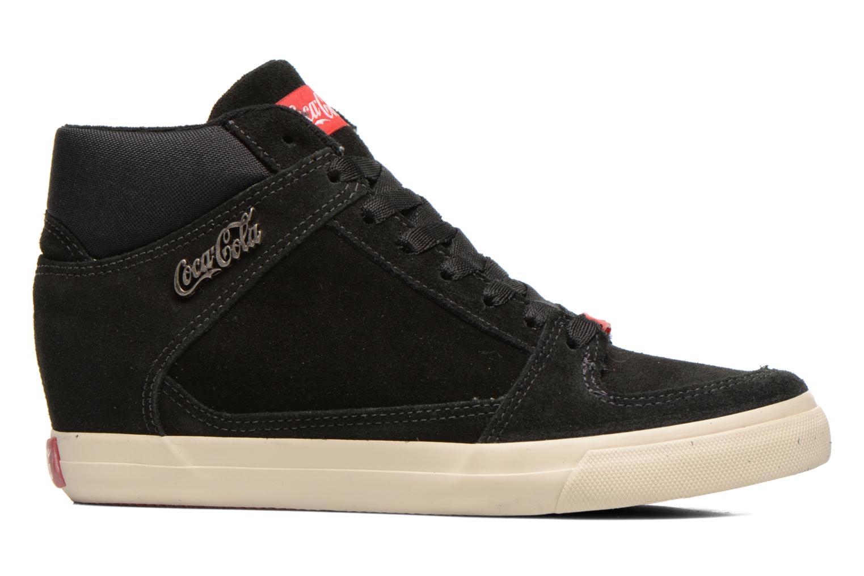 Baskets Coca-cola shoes Tamy Suede Noir vue derrière