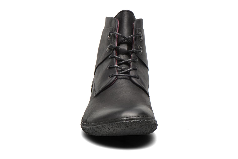 Botines  Kickers HOBYLOW Negro vista del modelo