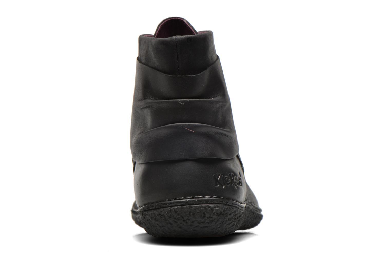 Bottines et boots Kickers HOBYLOW Noir vue droite