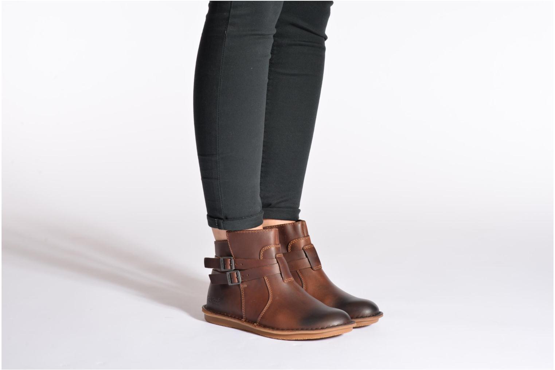 Stiefeletten & Boots Kickers WOUASO schwarz ansicht von unten / tasche getragen