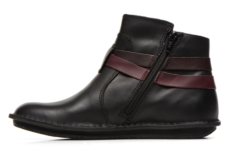 Stiefeletten & Boots Kickers WOUASO schwarz ansicht von vorne