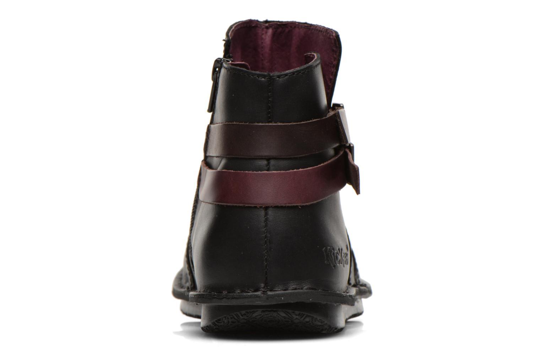 Stiefeletten & Boots Kickers WOUASO schwarz ansicht von rechts