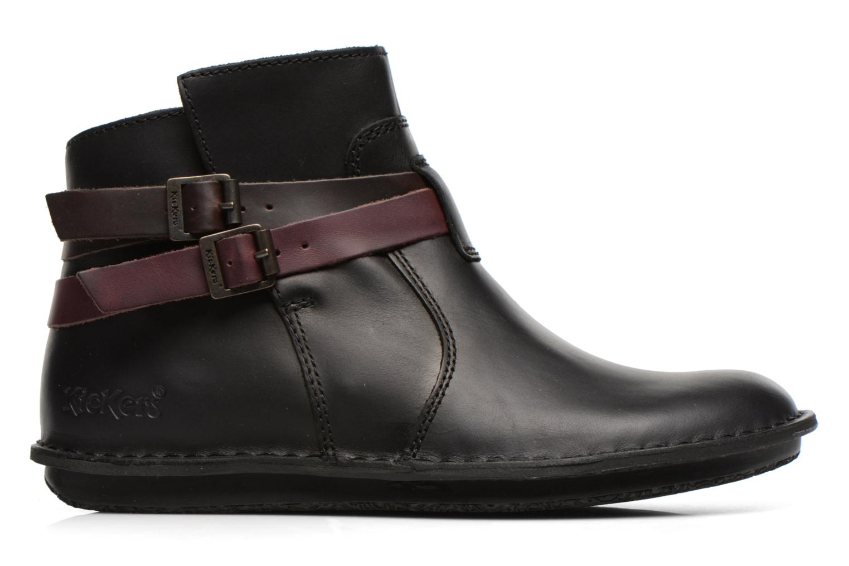 Stiefeletten & Boots Kickers WOUASO schwarz ansicht von hinten