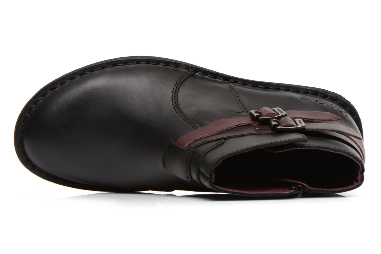 Stiefeletten & Boots Kickers WOUASO schwarz ansicht von links
