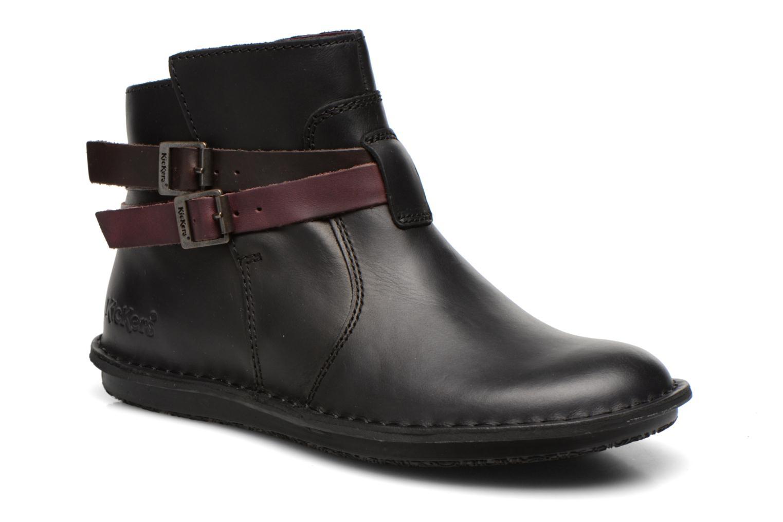 Stiefeletten & Boots Kickers WOUASO schwarz detaillierte ansicht/modell