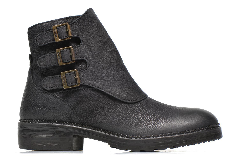 Bottines et boots Kickers Rouille Noir vue derrière