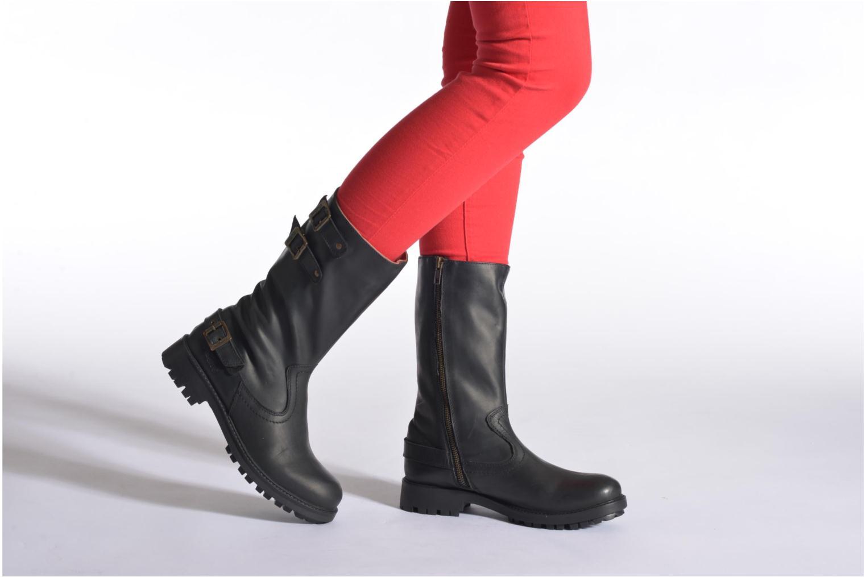 Bottines et boots Kickers Harbour Noir vue bas / vue portée sac