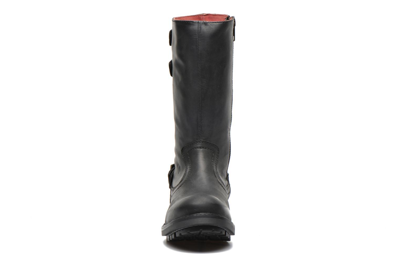 Bottines et boots Kickers Harbour Noir vue portées chaussures