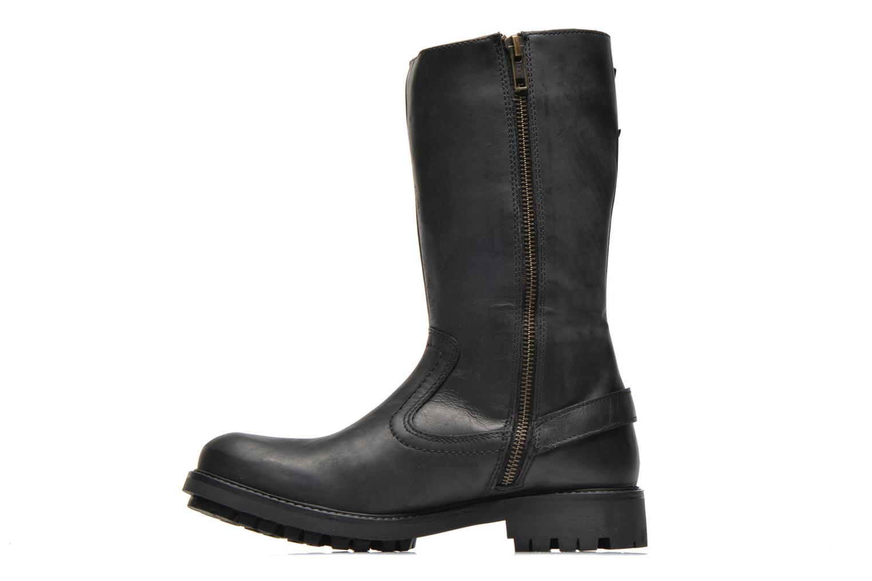 Bottines et boots Kickers Harbour Noir vue face