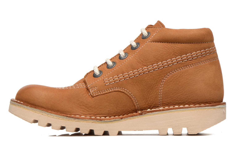 Chaussures à lacets Kickers Neorallye F Marron vue face