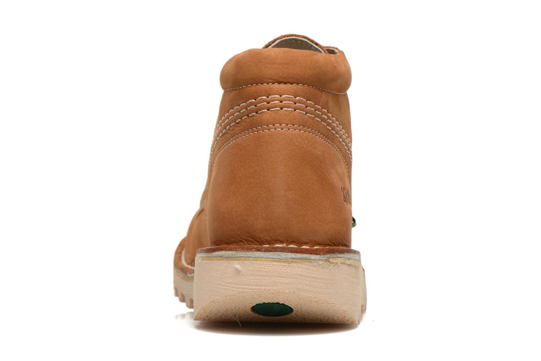 Chaussures à lacets Kickers Neorallye F Marron vue droite