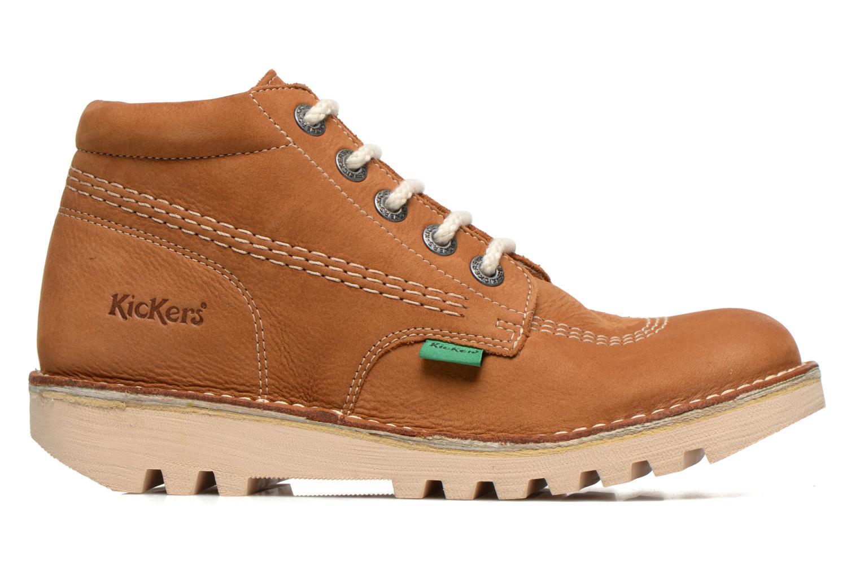 Chaussures à lacets Kickers Neorallye F Marron vue derrière