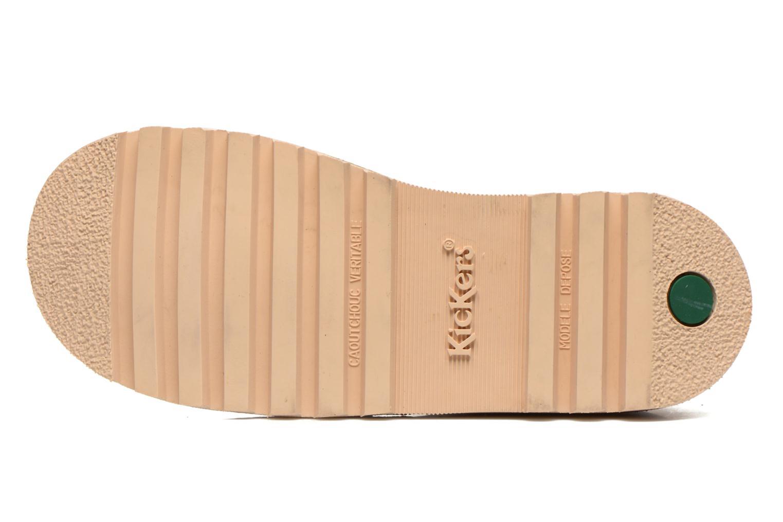 Chaussures à lacets Kickers Neorallye F Marron vue haut