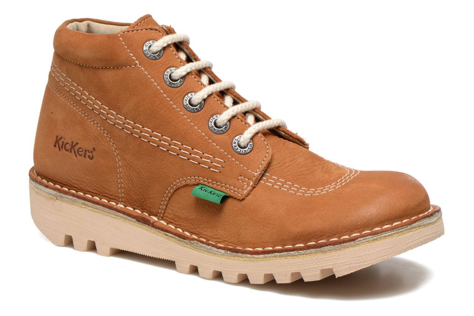 Chaussures à lacets Kickers Neorallye F Marron vue détail/paire