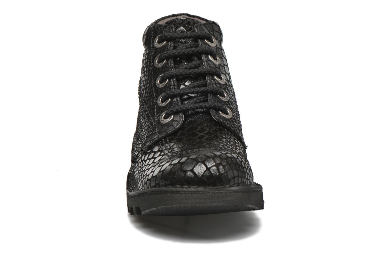 Chaussures à lacets Kickers Neorallye F Noir vue portées chaussures