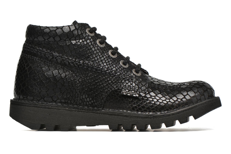 Chaussures à lacets Kickers Neorallye F Noir vue derrière